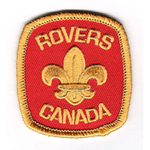 Rover Beret Badge
