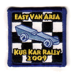 2008 East Van Kub Kar Rally Crest