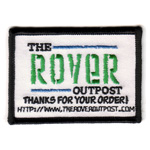 The Rover Outpost Business Card Crest